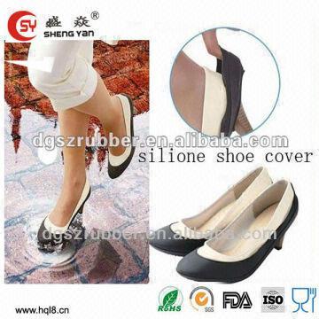 Rain Shoe Coveroutdoor Waterproof Shoe Coversnon Slip Rubber Shoe