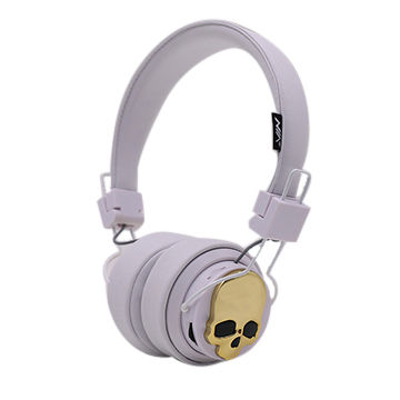 China Nia X7 Cool Skull Bluetooth Headphones With App Connect Tf Card Play And Fm Stereo Radio On Global Sources