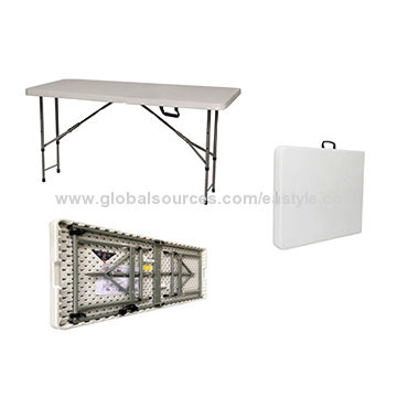 4ft Rectangular Folding Table China 4ft Rectangular Folding Table