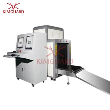 34mm Steel X-Ray Luggage Scanner with 0 4m / S Conveyor