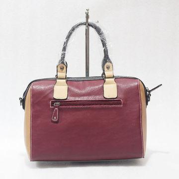 China Handbags, OEM/ODM, made of 100% PU leather