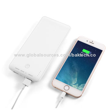 China BAKTH 10000mAh Dual USB Portable External Extended Battery Pack For Smart Phones and Tablets