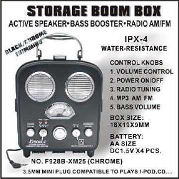 Storage Boom Box | Global Sources