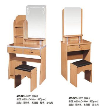 small size wood dressing table global sources. Black Bedroom Furniture Sets. Home Design Ideas