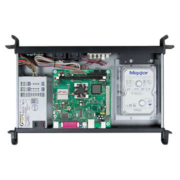 E125 1U Mini-ITX Server Chassis with Two USB 2 0 Ports at