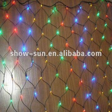 220 led net lights best christmas lights steady on multi color