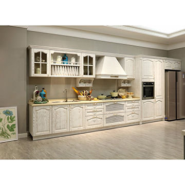 Pvc Wrap Kitchen Cabinets Classic And European Style Mdf