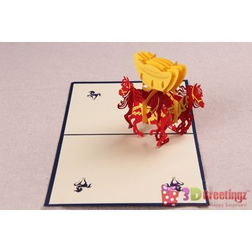 Admirable 3D Greeting Cards Handmade Cards Christmas 3D Cards Souvenirs Funny Birthday Cards Online Alyptdamsfinfo
