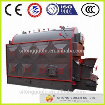 Industrial 5 Ton Coal Steam Boiler ,Output Steam Coal Boiler , Low ...