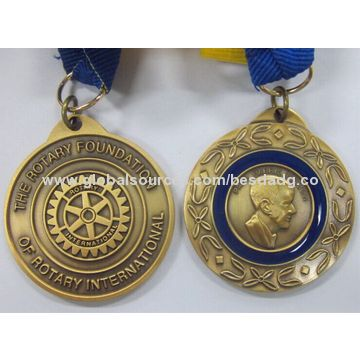 China Sport/Event Medal, Made of Zinc Alloy/Brass