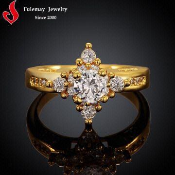 gold finger ring designs wedding cross ring fcr052 a b