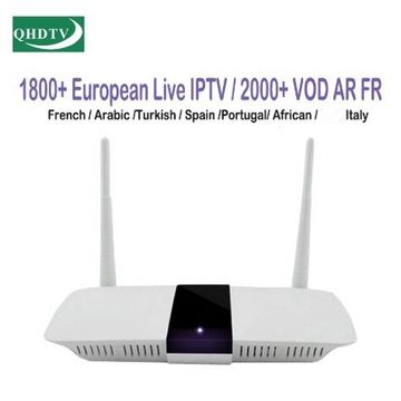 6month QHDTV activate code with 1300 package IPTV channel for