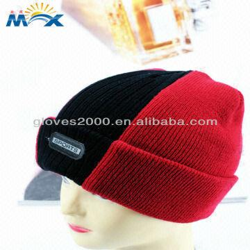 Wholesell Knitted Mohawk Earflap Hat Crochet Pattern Monster Hat