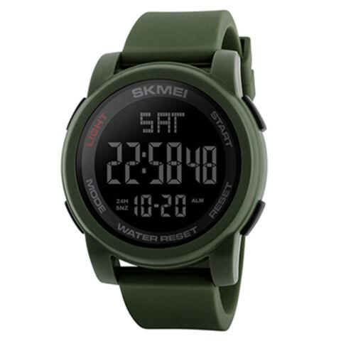 a79587ba2a0b China Big Face Dual Time Digital Watch Men s Chronograph Sports Watches  Countdown Military 1257 ...