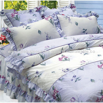 China Peachskin microfiber fabric for bedsheets hometextile