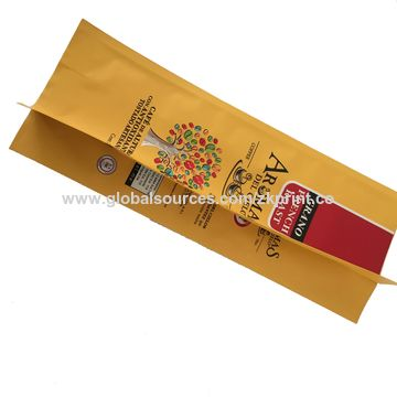 China Coffee packaging bag small packaging bag Plastic Flexible Laminated Cheap Tea Product Packaging