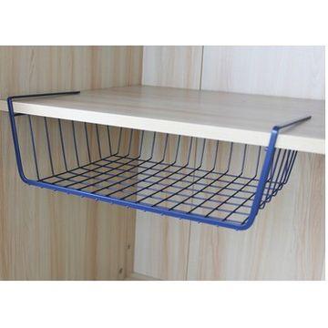 ... China NEW Under Shelf Basket Wrap Rack White Organizer Storage Shelf  Cabinet Tray Rack ...