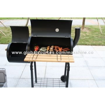 Charcoal BBQ grill for Garden used barbecue trolley type