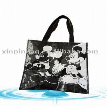 11c5ac386617 ... China High Quality Design Promotional Pp Laminated Laser Non Woven  Carry Bag
