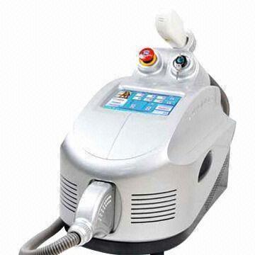 IPL laser for hair epilation, skin and acne treatment