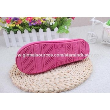 China Unisex Non-Skid Hotel Slippers