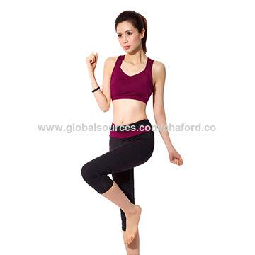 815f6a24894 Lady yoga wear China Lady yoga wear
