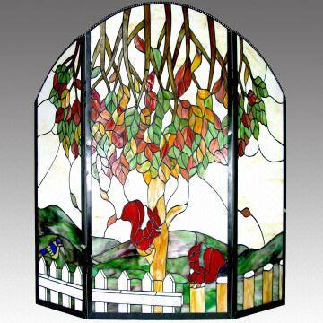 Stained Glass Fireplace Screens Glass Panel Global Sources