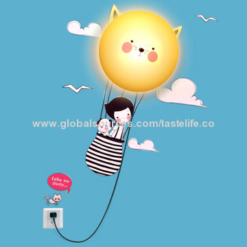 Balloon wall mounted night light 110v global sources china balloon wall mounted night light aloadofball Images