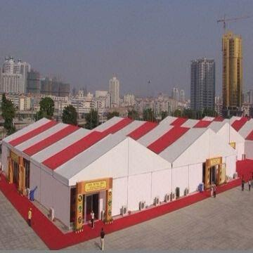 China 20m temporary warehouse tent with insulation sandwich panel wall & 20m temporary warehouse tent with insulation sandwich panel wall ...