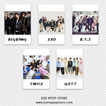 KPOP Album(CD/DVD) K-pop Goods, Magazine / Wholesale(B2B) | Global