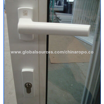 ... China Large Glass Sliding Door, Both Sides Handle With Multi Point Lock  With Key ...