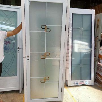 China Aluminum Alloy Interior Door, Glass Door Bathroom