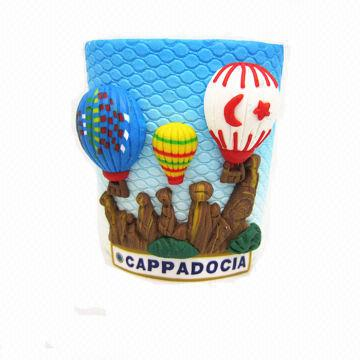 Fimo clay turkey pen holder polymer clay hot air balloon for Craft smart polymer clay