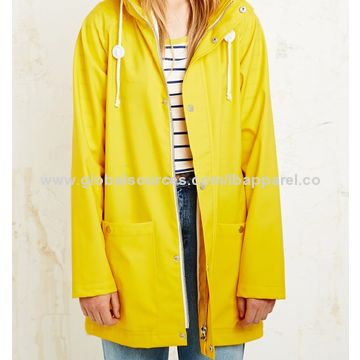 Hot Selling Super Waterproof Fashionable Yellow Fisherman Raincoat ...