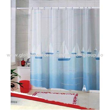Bathroom waterproof shower curtain   Global Sources