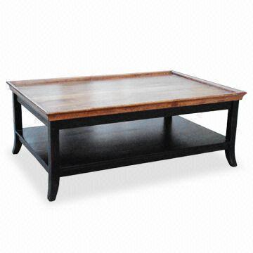 India Tray Top Coffee Table Made Of Wood Mango Measuring 48 X 24