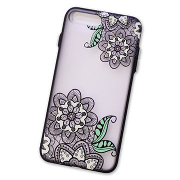 eca5c500d China Colored Drawing Transparent TPU Phone Case, Embossment Painted Back  Cover for iPhone 8/ ...