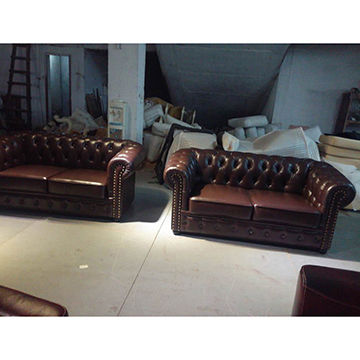 Leather Sofa Set From Foshan Wholer