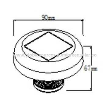 China Small Solar Motion Sensor Light From Jiaxing Manufacturer