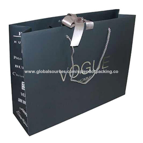 100c239f0b China Paper bag art paper bag solid bleached board kraft paper are commonly  used to make ...