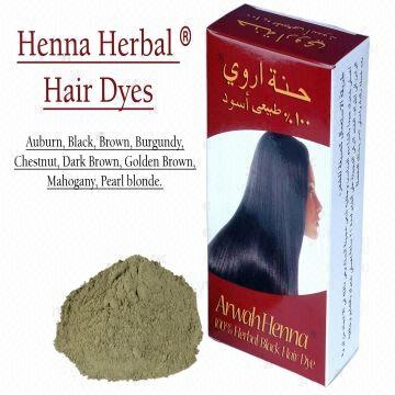 Arwah Henna Hair Coloring Powder In Different Colors Global Sources