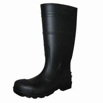 55bceb55b092 China Working safety shoes PVC rubber rain boots Water-resistant protection  accessories