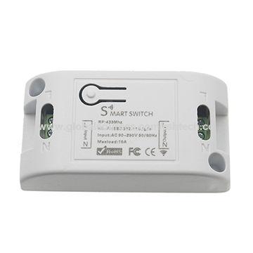 China Wifi wireless 433Mhz RF relay receiver smart light