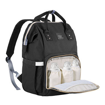 China Diaper Bag With Insulation Pockets Large