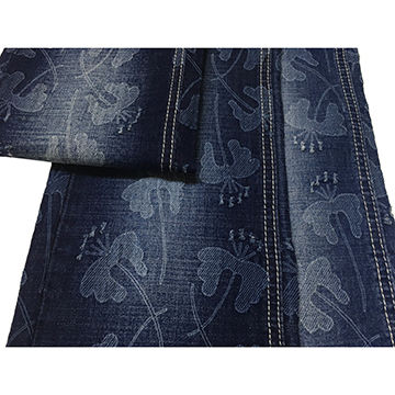 China Fashion Laser printing desigh twill denim fabric from