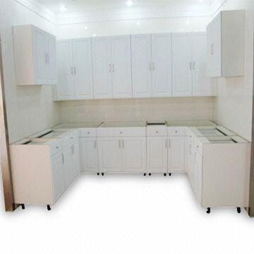 Kitchen Cabinet With Laminated Board Door And Wood Veneer Carcass Global Sources