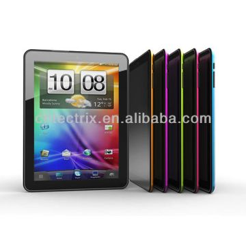 Taiwan 8' tablet PC 1024*768 HD Actions ATM7029 Dual-Core 1.5GHz