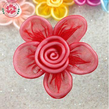 Product categories organza flower 1 415 handmade silk fabric china product categories gt organza flower 1 415 handmade silk fabric flowers design mightylinksfo