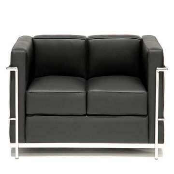 ... China Le Corbusier Lc2 Petit Comfort Modern Classic Leather Sofa