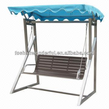 ... China 2014 New Design Stainless Steel Garden Swing Chair